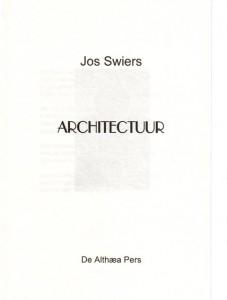 Architectuur titelpagina