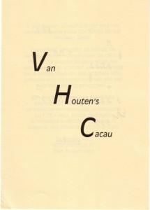 Brochure Van Houten