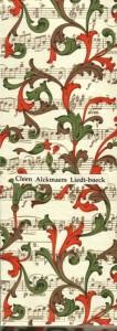 Cleen Alckmaers Liedt-boeck