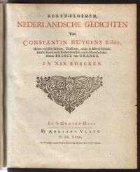 Kooren-bloemen 1ste druk 1658