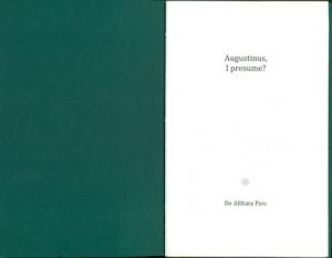 augustinus (2) titelpagina