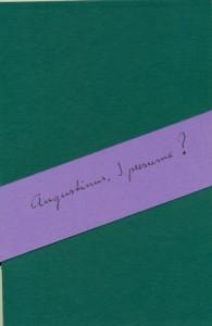 augustinus (2) voorzijde leporello
