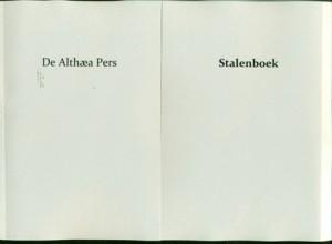 stalenboek titel