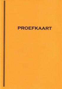 Proefkaart