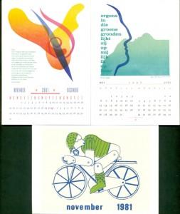 kalenders tentoonstelling 2