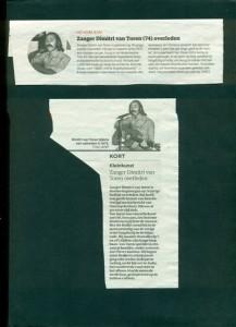 Dimitri kranten